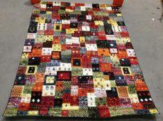 Happiness Pardis rug, multicoloured,