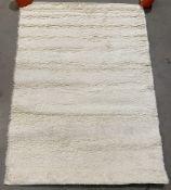 A2ZRug Pera Shaggy Collection rug, ivory,