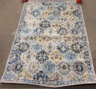 Jonathan Y Modern Persian rug, blue multi,