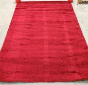 Milano Rugs Verona rug, red,