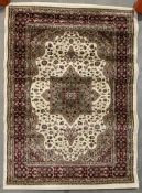 Milano Rigs Rome rug, cream and brown,