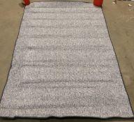BT Carpet rug, grey,