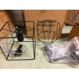 Industville Brooklyn Wire Cage 1-Light A