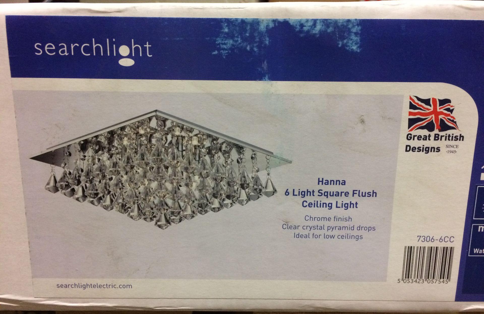 Fairmont Park Montgomery 6-Light Flush M