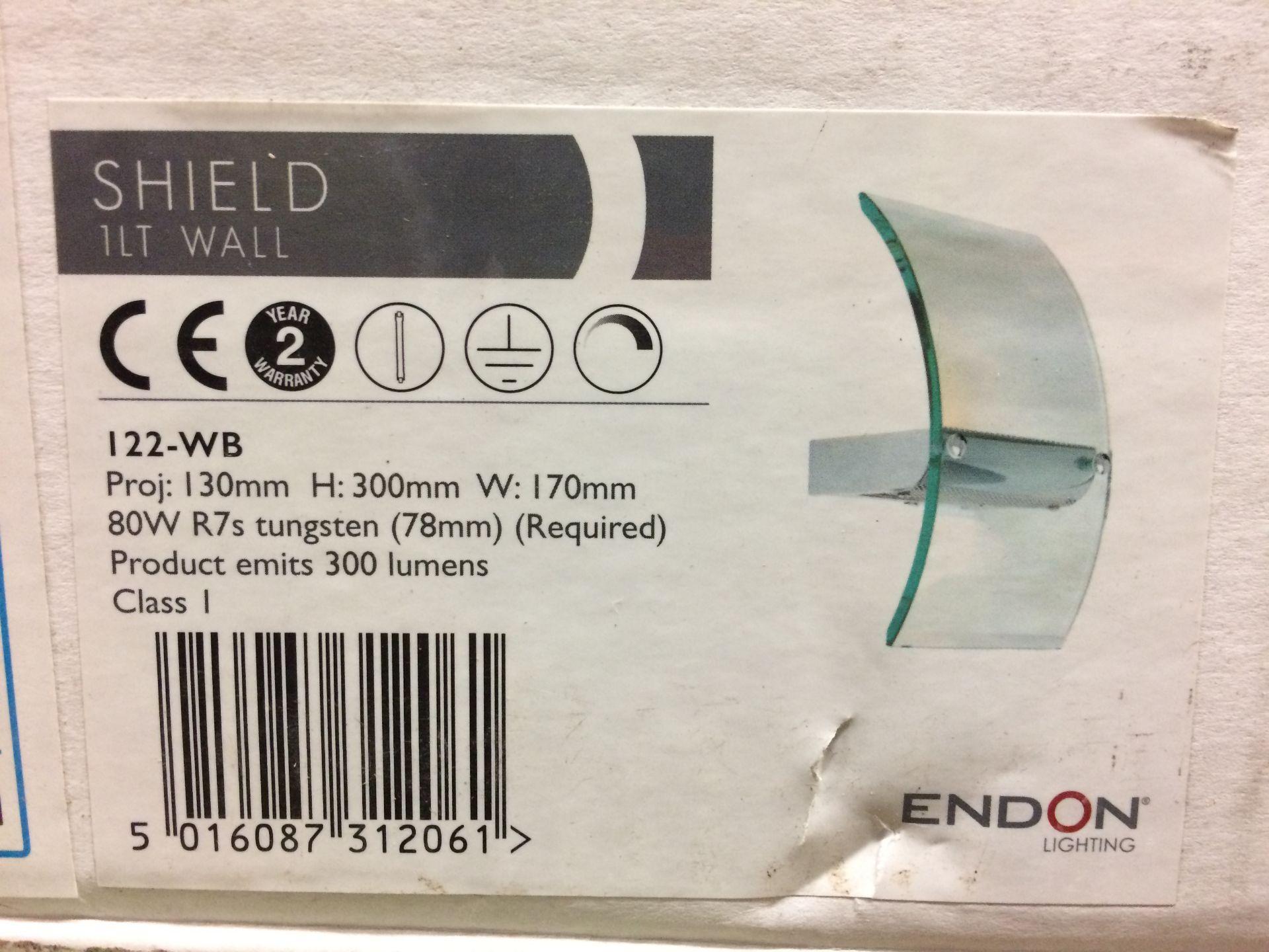Endon Lighting 1-Light Flush Mount