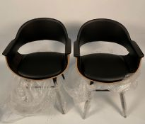 2 x Phillip Side Chairs,