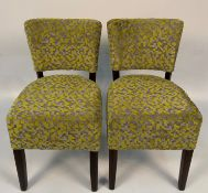 2 x Memphis Sunbury Camden Jasper 9609 side/dining chairs