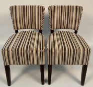 2 x Memphis Warwick Parallel Cosmic side/dining chairs