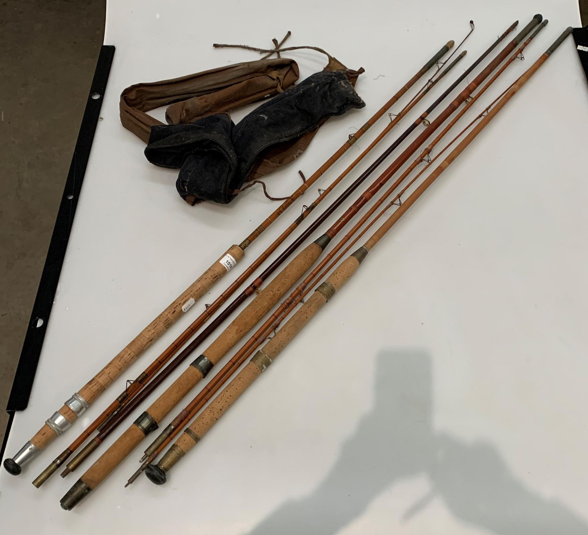 A cane three piece rod with bag, - Image 2 of 2