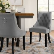 Three Posts Brannon Upholstered Dining Chair