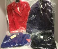 4 x assorted ladies fashion jackets by Love Label, Kaleidoscope,