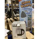 A Timeless travel kettle and Glass Wizard glass surface cleaner (2)