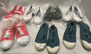 7 x pairs of ladies fashion pumps by Next, Lands End, Bensimon,