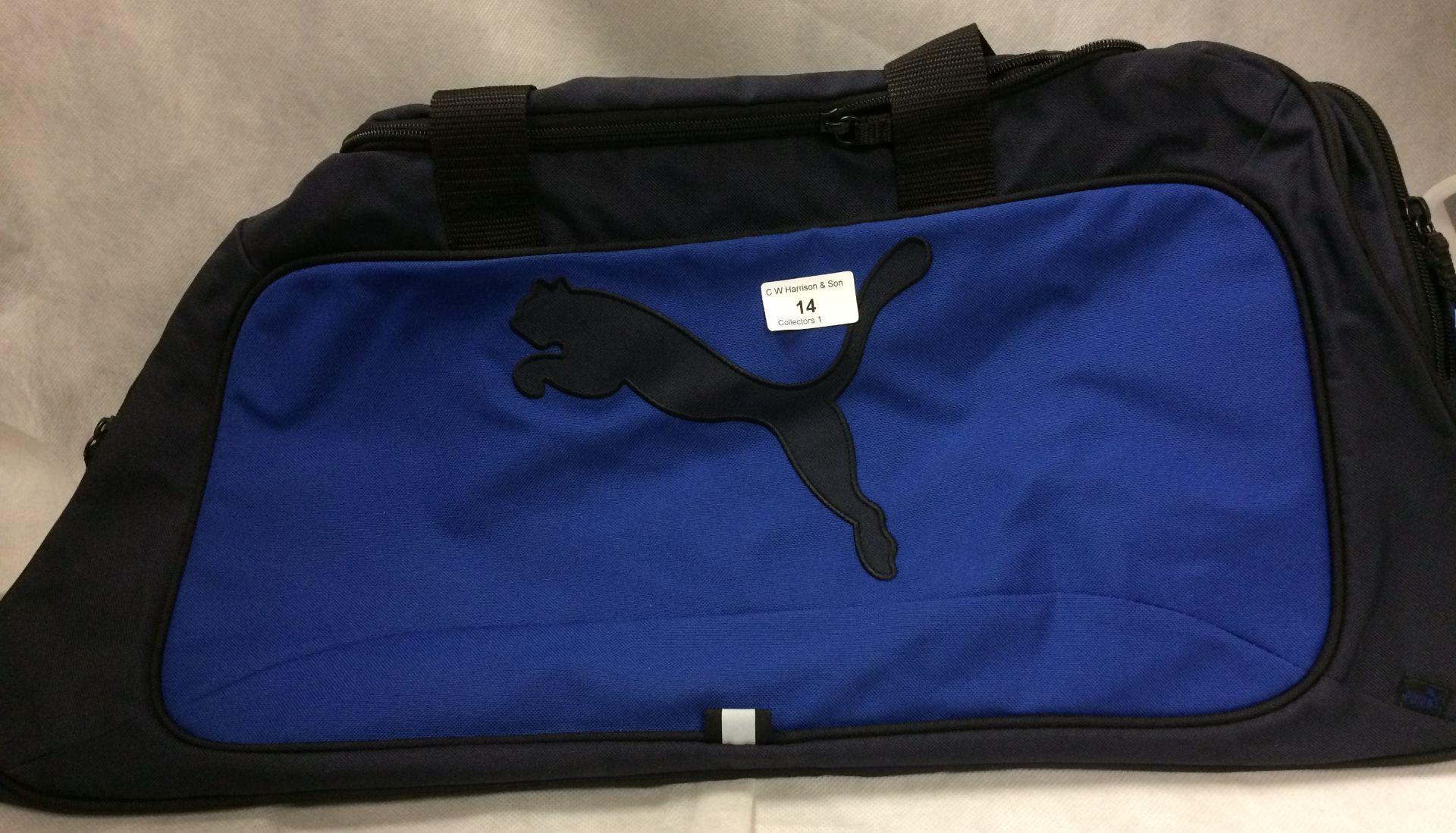 Puma sports bag in blue