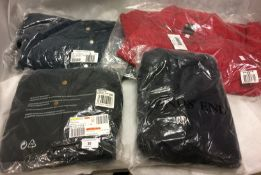 4 x ladies padded coats by Lands End and B&G (all size 12)