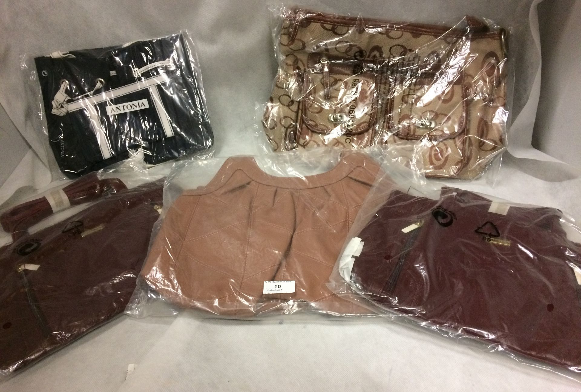 5 x assorted bags by Antonia, Stefando,