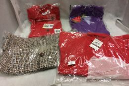 4 x items - 2 x ladies jackets and 2 x blazers in red,
