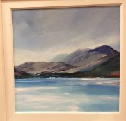 Stephen Lennon, framed oil Ben Nevis, 58cm x 58cm, signed to bottom left,