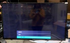 "A Polaroid P43D300FP 43"" wall mounting 43"" Smart Full HD LED TV - no bracket"