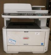 An Oki MB472 model no: N22502B copy/scan/fax/printer