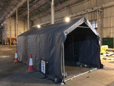 A DANCOVER - 3M storage tent - galvanised frame,