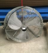 A Bionaire BAC 19 freestanding oscillating fan - 240v