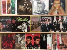 15 various LPs - Blondie, Kate Bush, The Jam, Adam and the Ants, Wham, etc.