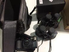 A Pentax Zoom 60 camera,