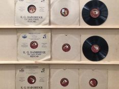 "Contents to three boxes - a quantity of 10"" and 12"" 78rpm records - Bing Crosby, Danny Kaye,"