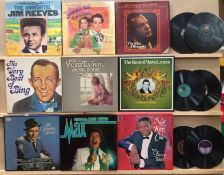Nine Reader's Digest and other LP box sets - Jim Reeves, Frank Sinatra, Operetta, etc.