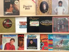 16 assorted LPs - Gene Pitney (4), Frankie Valli (4),