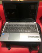 An Acer Aspire E15 E5-571-304M laptop computer CPU I3 1.