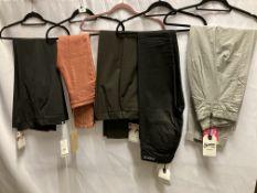 5 x pairs of ladies jeans/trouser by Denham, The Black Barth's, etc.