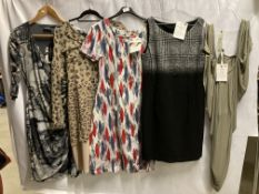 5 x assorted ladies medium length dresses by Firetrap, Queen & Country, Ariana, etc.
