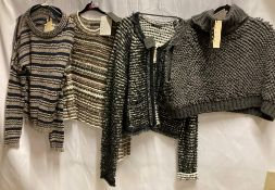 4 x assorted woolen tops by Pullover, Apriori,