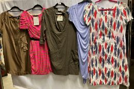 5 x assorted ladies dresses by Queenie And Co, Day, Olivia Rubin, etc.