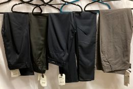 5 x assorted ladies trousers by FSR and Denham, etc.