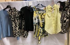 5 x assorted ladies long sleeved T-shirts and other tops by Ariana, Galla, Vero Moda,