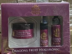 Contents to pallet - Approximately 630 x Cougar Dragons Fruit Hyaluronic sets (day & night cream,