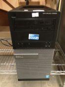 A Dell Optiplex 3020 computer 8GB Ram, 465 GB HD,