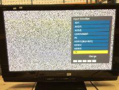 "A Panasonic Viera TH42PZ81B 42"" TV,"