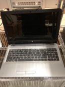 An HP Notebook TPNC126 laptop 2200 MHZ CPU, 8GB Ram,
