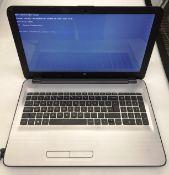 An HP Notebook laptop computer 2200Mhz CPU,