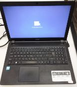 An Acer Aspire 3 laptop Intel Core i3, Intel HD graphics 520, 4GB DDR 4 memory,