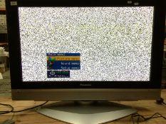 "A Panasonic Viera TH-37PE50B 37"" TV complete with remote control"