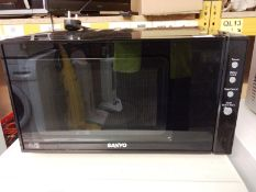 A Sanyo EM-G35978 household microwave oven