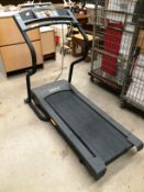 A Welso Cadence M6 running exercise machine with digital readout - 240v