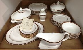 Contents to tray thirty eight pieces of St Michael Connaught pattern tableware including two