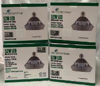 4 x Light Efficient Design LED-8025-CW-E