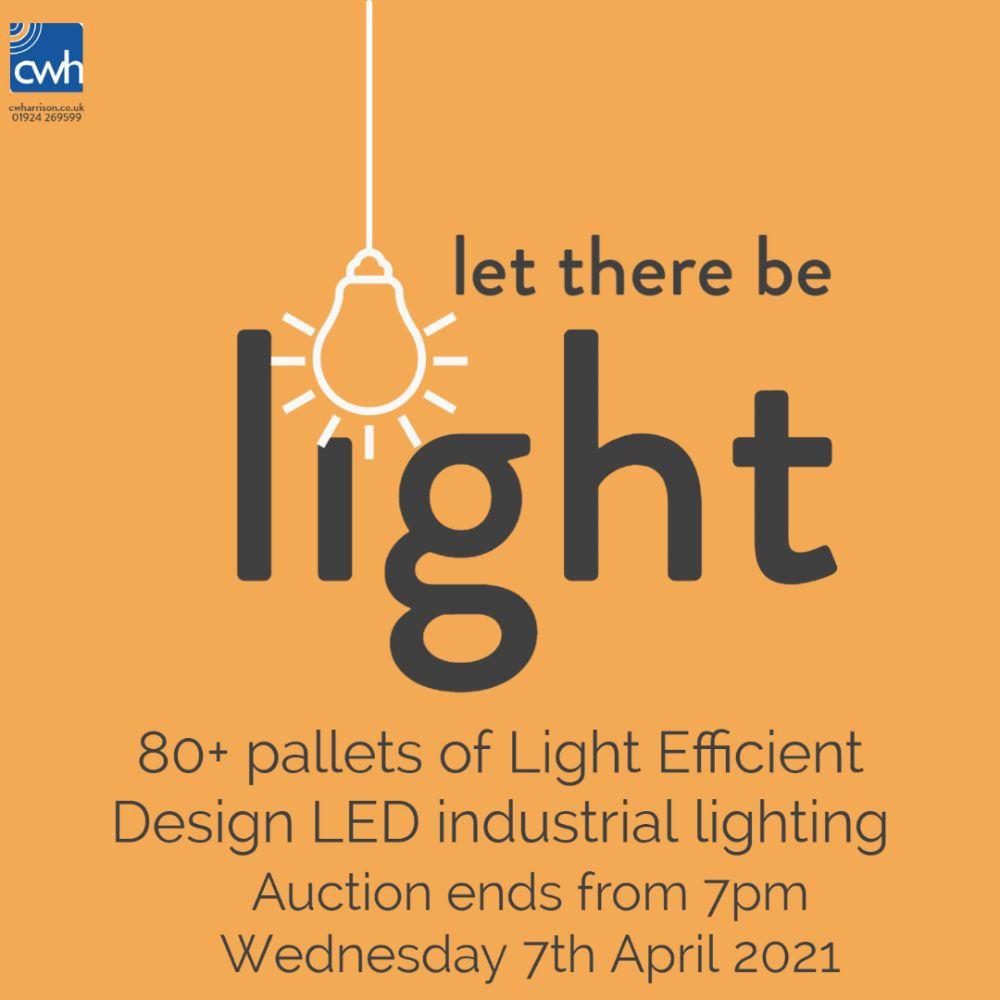 Large quantity of Light Efficient Design LED Retro-Fit Industrial Lighting - High Bay, Low Bay, Warehouse, Floodlights, Bollard, Post Top, Solar